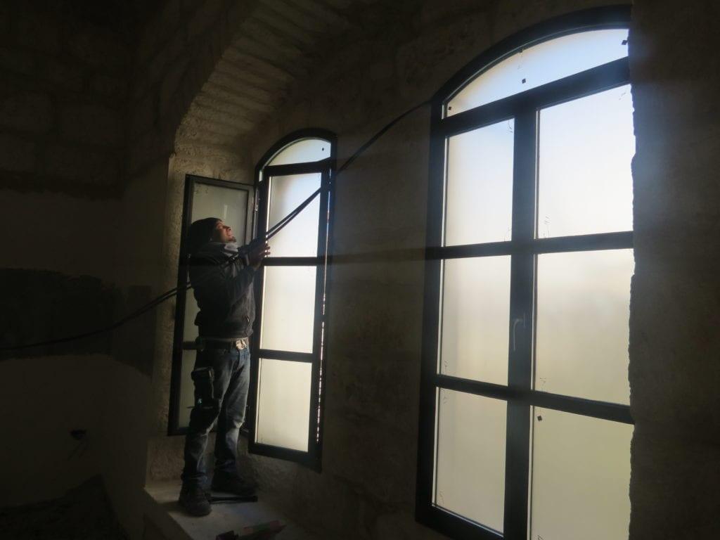 renovation Maronite convent in Bethlehem